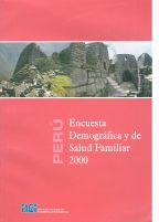 Cover of Peru DHS, 2000 - Final Report (Spanish)