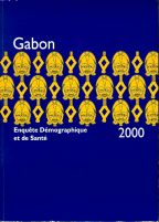 Cover of Gabon DHS, 2000 - Final Report (French)