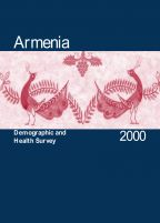 Cover of Armenia DHS, 2000 - Final Report (English)