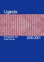 Cover of Uganda DHS, 2000-01 - Final Report (English)