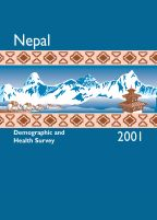 Cover of Nepal DHS, 2001 - Final Report (English)