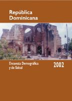 Cover of Dominican Republic DHS, 2002 - Final Report (Spanish)