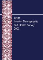 Cover of Egypt DHS, 2003 - Egypt Interim Demographic and Health Survey (English)