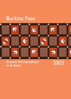 Cover of Burkina Faso DHS, 2003 - Final Report (French)