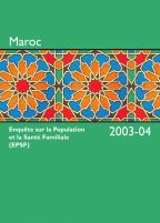 Cover of Morocco DHS, 2003-04 - Final Report (French)