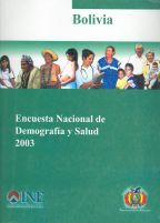 Cover of Bolivia DHS, 2003 - Final Report (Spanish)