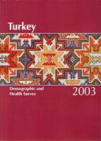 Cover of Turkey DHS, 2003 - 2003 Final Report (English)