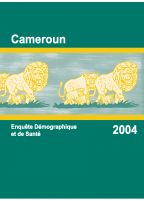 Cover of Cameroon DHS, 2004 - Final Report (French)