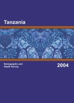 Cover of Tanzania DHS, 2004-05 - Final Report (English)