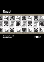 Cover of Egypt DHS, 2005 - Final Report (English)