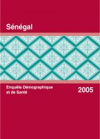 Cover of Senegal DHS, 2005 - Final Report (French)