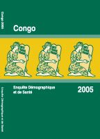 Cover of Congo DHS, 2005 - Final Report (French)