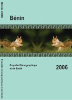 Cover of Benin DHS, 2006 - Final Report (French)
