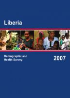 Cover of Liberia DHS, 2007 - Final Report (English)
