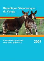 Cover of Congo Democratic Republic DHS, 2007 - Final Report (French)