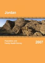 Cover of Jordan DHS, 2007 - Final Report (English)