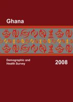 Cover of Ghana DHS, 2008 - Final Report (English)