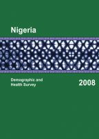 Cover of Nigeria DHS, 2008 - Final Report (English)