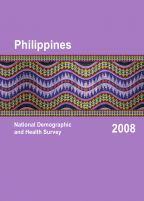 Cover of Philippines DHS, 2008 - Final Report (English)