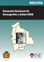 Cover of Bolivia DHS, 2008 - Final Report (Spanish)