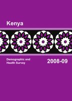 Cover of Kenya DHS, 2008-09 - Final Report (English)
