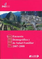 Cover of Peru DHS, 2007-08 - Final Report Continuous (2007-2008) (Spanish)