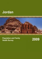 Cover of Jordan DHS, 2009 - Jordan Interim Survey (English)