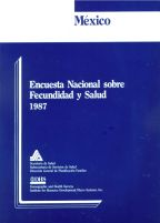 Cover of Mexico DHS, 1987 - Final Report (Spanish)