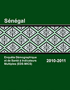 Cover of Senegal DHS, 2010-11 - Final Report (English, French)
