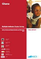 Cover of Ghana MICS, 2011 - Multiple Indicator Cluster Survey - Final Report (English)