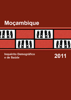 Cover of Mozambique DHS, 2011 - Final Report (Portuguese)
