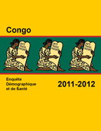 Cover of Congo DHS, 2011-12 - Final Report (French)