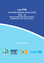 Cover of Lao People's Democratic Republic Special, 2011-12 - Lao Social Indicator Survey (MICS/DHS) Final Report (English)