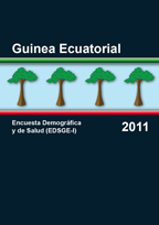 Cover of Equatorial Guinea DHS, 2011 - Final Report (Spanish)