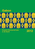 Cover of Gabon DHS, 2012 - Final Report (French)