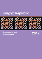 Cover of Kyrgyz Republic DHS, 2012 - Final Report (English)