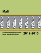Cover of Mali DHS, 2012-13 - Final Report (French)
