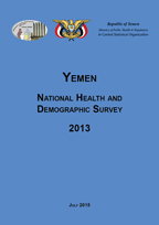 Cover of Yemen DHS, 2013 - Final Report (English)