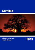 Cover of Namibia DHS, 2013 - Final Report (English)