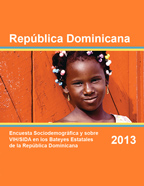 Cover of Dominican Republic Special DHS, 2013 - Final Report - Bateyes (Spanish)