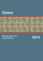 Cover of Ghana DHS, 2014 - Final Report (English)