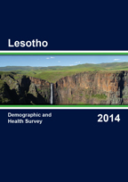 Cover of Lesotho DHS, 2014 - Final Report (English)