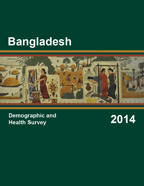 Cover of Bangladesh DHS, 2014 - Final Report (English)