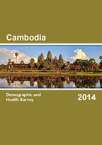Cover of Cambodia DHS, 2014 - Final Report (English)