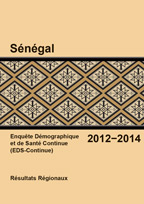 Cover of Senegal DHS, 2014 - Final Report Continuous 2012-14 (French)