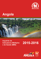Cover of Angola DHS, 2015-16 - Final Report (Portuguese)