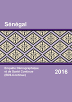 Cover of Senegal DHS, 2016 - Final Report Continuous (French)