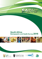 Cover of South Africa DHS, 2016 - Final Report (English)