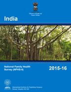 Cover of India DHS, 2015-16 - Final Report (English)
