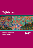 Cover of Tajikistan DHS, 2017 - Final Report (English, Russian)